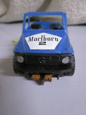 Coche scalextric STS 4x4 made in spain 9cm aprox mercedes Marlboro 2