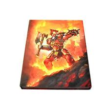 KHORNE BLOODBOUND Limited CODEX BATTLETOME Warhammer Sigmar OOP book