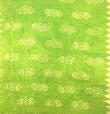Vintage Cotton Indian Kantha work Cushion Cover  - 40 x 40cm
