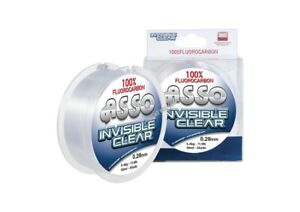 FILO FLUOROCARBON ASSO INVISIBLE CLEAR FLUOROCARBON 100% 50 MT.