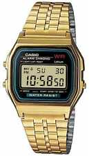 Casio Digitale Retro Heren Verguld A159WGEA-1EF Horloge