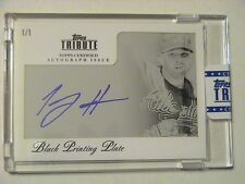 2012 Topps Tribute Tommy Hanson Atlanta Braves Uncirculated Auto 1/1