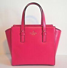 Kate Spade Pink Leather Designer Tote Purse Crossbody Shoulder Bag Satchel New