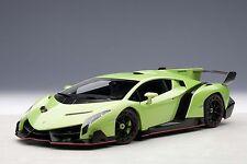 1/18 Autoart Lamborghini Veneno Loyalton voir l'établissement CAR 2013 VERT + 1