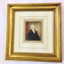 After George Richmond Watercolour Portrait Miniature Of William Wilberforce