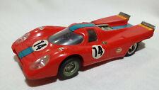 SCALEXTRIC PORSCHE 917 rojo oscuro #14 EXIN C-46 (1972) /C5/
