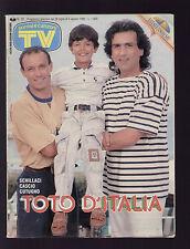 SORRISI 30/1990 SCHILLACI CUTUGNO INNOCENTI KORAL SHIRLEY TEMPLE ARGENTO OXA