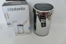 Brabantia Touch Bin Brilliant Steel 3L