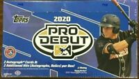 2020 Topps Pro Debut Baseball Factory Sealed Hobby Box