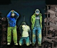 1/35 Resin 3 Prisoners of War Modern Terrorists unpainted unassembled BL773