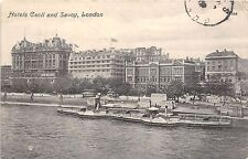 BR62346 hotel cecil and savoy london  uk