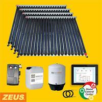 Vakuumröhrenkollektor Solaranlage Komplettset Röhrenkollektor Sonnenplatte Solar
