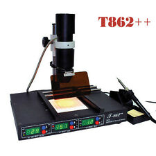 TOP! BGA REWORK STATION INFRARED SMD SMT IRDA WELDER SOLDERING MACHINE T862++