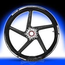 Adesivi moto BUELL RACING 5 stickers cerchi ruote wheels stickers mod.2