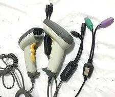 X2 - Symbol Ls4006I-I100 Handheld Barcode Scanner W/ Cables