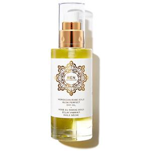 Ren Moroccan Rose Gold Glow Perfect Dry body Oil 100 ml