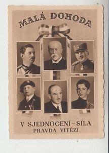 1937 Tschechien Kleine Entente Mala Dohoda Propaganda
