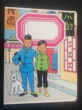 Cahier Tintin cote d'or TBE