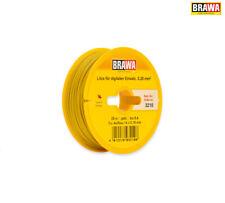 Brawa 3210 Digitalkabel 0,25 mm², 25 m Spule, gelb +++ NEU