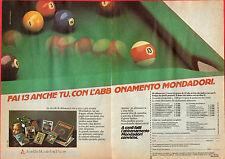 Pubblicità Advertising Abbonamento MONDADORI 1983
