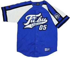 Vintage FUBU 05 Baseball Shirt Size L , Hip Hop , 1990s , Old School