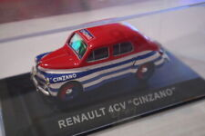 Renault 4CV - Cinzano - Altaya-Ixo 1:43