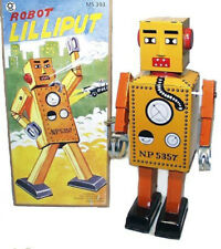 Giant Lilliput Robot Windup Tin Toy NEW Schylling - FREE SHIPPING!