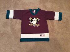 Vtg Youth PAUL KARIYA Anaheim Mighty Ducks Jersey Size Large (14-16) Logo 7 NHL