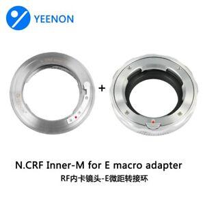 YEENON Nikon RF (Contax RF) inner lens to Sony E camera Close Focus adapter