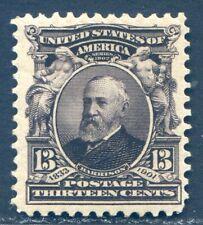 U.S., Scott #308, Unused, Vlh*, Og, Scv: $40. [1361]
