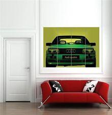 Audi 90 Quattro 2 rally car sport automobile GIANT NEW Poster Wall Art Print