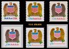 2602 2603 2604 2907 3270 3271 Eagle & Shield Complete Set 6 Coils MNH - Buy Now