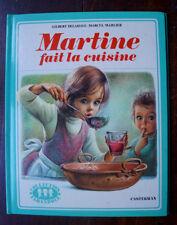 """livre MARTINE """"fait la cuisine""""  Casterman 1974"""
