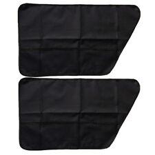 2pc Pet Dog Scuff Cover Mat Left&Right Car Door Guard Storage Bag Catch Catcher