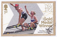 2012 London Olympic Games 1st class stamp Katherine Copeland Sophie Hosking used