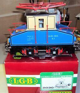 LGB 2030 Electric Trolley Steeple Cab Electric MIB