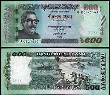 BANGLADESH 500 TAKA (P58) 2011 UNC