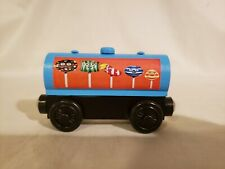 Thomas Wooden Railway Custom hand painted Blue Candy Tanker Train