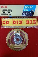 Aprilia RS125 2006-2012 DID ERZ 415 Race Chain and Talon Sprocket Kit 17/41, New