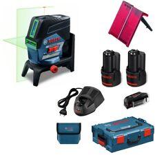 Bosch Croix Ligne Laser Combi Laser gcl2-50 CG vert 2 batterie 2,0ah USB-adaptateur