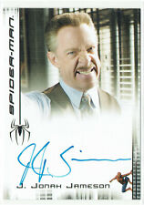 Spider-Man 3 Movie Rittenhouse Autograph Card J.K. Simmons as J Jonah Jameson