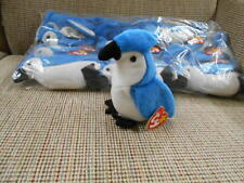 "Beanie Babies ONE DOZEN WHOLESALE - ""Rocket"" the Blue Jay by Ty, Inc-NIB-Retired"