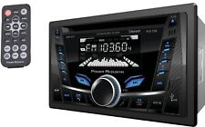 POWER ACOUSTIK PCD-52B DOUBLE 2 DIN CAR STEREO BLUETOOTH CD AUX/USB SD PLAYER