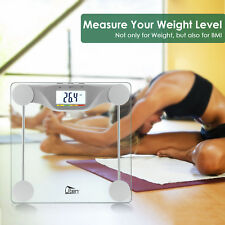 Digital Smart Body Fat Weight Scale LCD Health Fitness BMI Muscle Bathroom 400LB