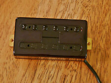 VINTAGE OUTPUT NECK HUMBUCKER PICKUP FILTERTRON STYLE BLACK ALNICO 5 MAGNETS