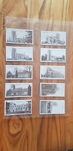 Full Antique Set Of Churchman West Suffolk Churches