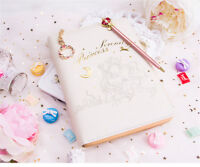Sailor Moon Kawaii Anime Loose-leaf Notebook Planner Schedule Diary Pen Cosplay
