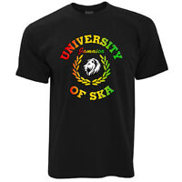 University of Ska Jamaica t-shirt 100% cotton skinhead trojan reggae dub retro