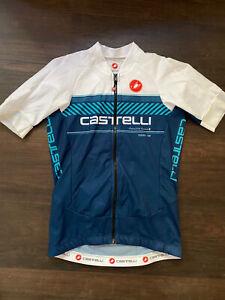 Castelli Aero 5.1 Jersey Women small white lighweight short sleeve