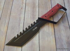 SURVIVOR 14 INCH OVERALL FIXED BLADE BOWIE HUNTING KNIFE WITH NYLON SHEATH